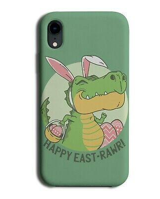 The Easter Dinosaur Phone Cover Case Dinosaurs In Fancy Dress Bunny Ears J214 • 9.99£
