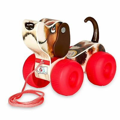 £13.87 • Buy Fisher Price Classic Little Snoopy Wooden Toy, Pull-Along Dog - Ages 12 Months +