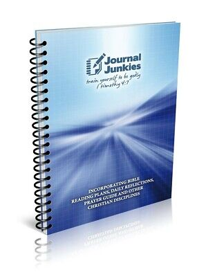 £6 • Buy Blue Christian JOURNAL   Unique Product To Help You Get The Most From Your BIBLE