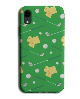 Golf Pattern Phone Case Cover Golfing Items Equipment Accessories Golfer J471 • 9.99£