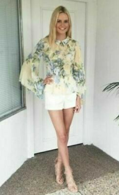 AU119 • Buy ALICE MCCALL  Love On Top  Pretty Floral Print Womens Blouse Shirt Top 6