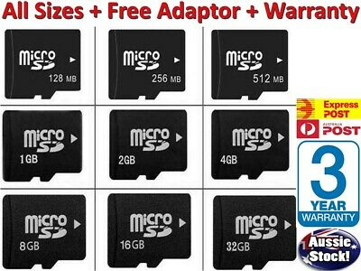 AU7.97 • Buy Micro SD Card, 32gb Micro SD 64gb Micro SD 8gb Micro SD Card WITH Adapter