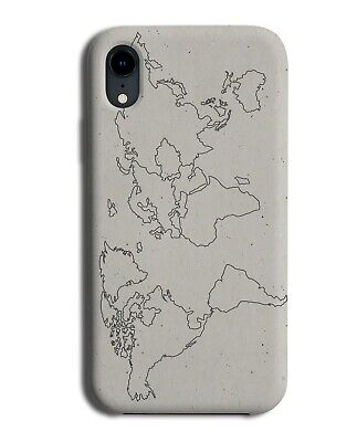 Vintage World Map Phone Case Cover Atlas Countries Earth Shapes K886  • 9.99£