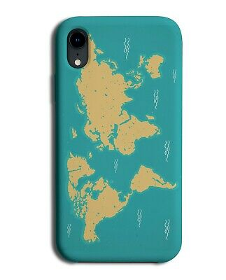 Earth Map Phone Case Cover Globe Planet World Land Mass Picture K904  • 9.99£
