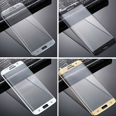 $ CDN10.21 • Buy Clear Full Cover Premium Tempered Glass Screen Protector For Samsung Galaxy S7