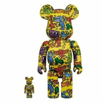 $239.98 • Buy Medicom Toy BE@RBRICK KEITH HARING #5 100% & 400% Figure Japan New Limited
