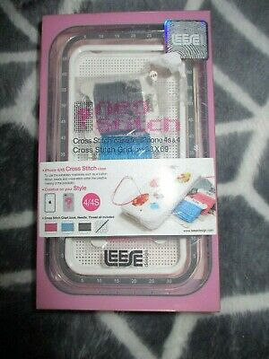 £5.72 • Buy Leese Design Iphone 4/4S Cell Phone Case Cross Stitch Kit