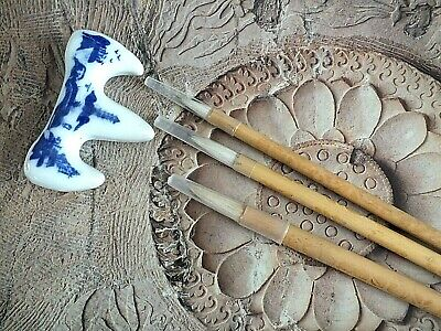 3 Chinese Lms Goat Writing Calligraphy Painting Brush Japanese Craft L Stand • 4.99£