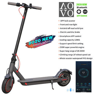 View Details AOVO Pro Adults Electric Scooter 10.5Ah Battery 350w Motor E-scooter Smart App • 284.98£