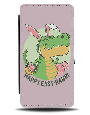 The Easter Dinosaur Phone Cover Case Dinosaurs In Fancy Dress Bunny Ears J214 • 11.99£