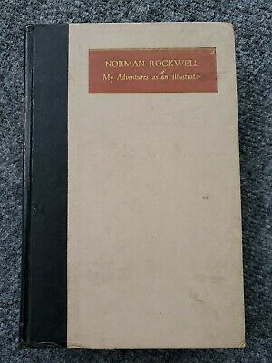 $ CDN13.18 • Buy Norman Rockwell Autobiography My Adventures As An Illustrator 1960 1st Ed