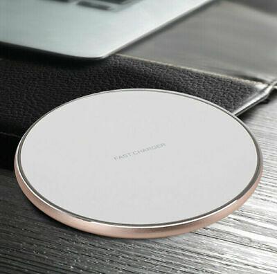 $ CDN11.99 • Buy QI Universal Wireless Fast Charger Pad Fit IPhone R/XS/Max/8 Galaxy Note 9/S9 WH