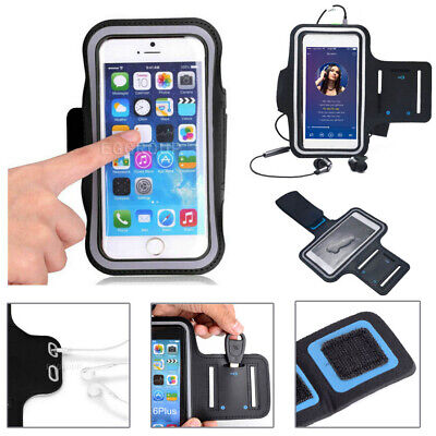 AU14.24 • Buy Sports Armband Phone Holder Arm Band Case Gym Running Pouch Jogging Exercise Bag