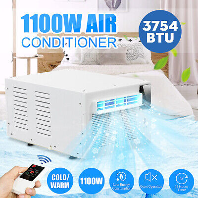 AU265.99 • Buy 1100W 3754BTU Portable Window Air Conditioner Refrigerated Summer Cooler Remote