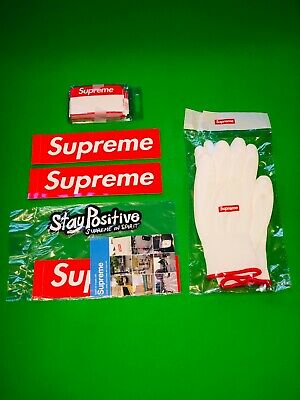 $ CDN53.63 • Buy Supreme FW20 Name Badge Stickers (Pack Of 100) Red Labels Brand New + Many Extra