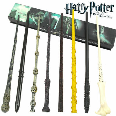 Magic Wand Harry Potter Hermione Dumbledore Voldemort Wand Cosplay Hallows Toys • 6.89£