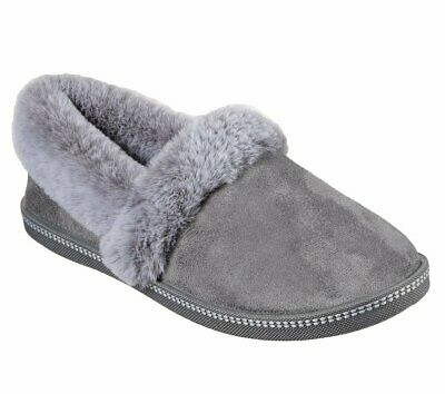 Skechers 32777 Cozy Campfire Team Toasty Ladies Charcoal Slippers • 37£