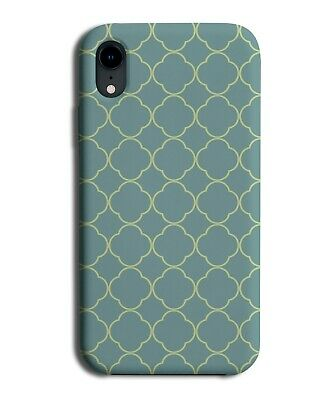 Dark Mint Green Mosaic Tile Shapes Phone Case Cover Geometric Mosaics F206  • 9.99£