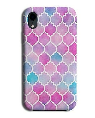 Colourful Pink Mermaid Mosaic Ceramic Tile Phone Case Cover Tiles Pattern F583 • 9.99£