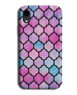 Purple Coloured Mosaic Print Pattern Phone Case Cover Tiles Morocco Design F584 • 9.99£