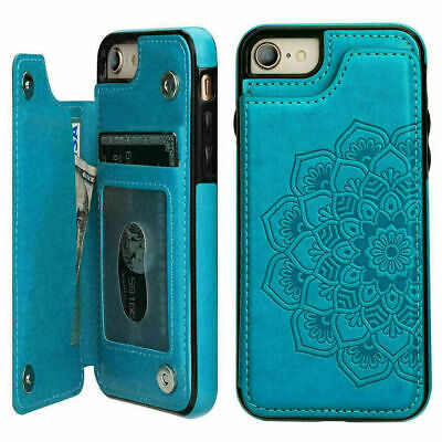 AU8.98 • Buy F IPhone 11 Pro Xs Max 7 8 Xr SE Case Magnetic Flip Leather Wallet Cards Cover