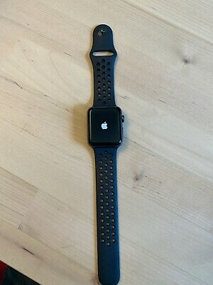 $ CDN247.22 • Buy Apple Watch Nike+ 42mm Space Gray Aluminium Case With Anthracite/Black Nike Band