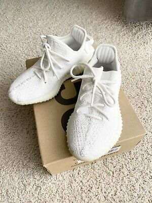 $ CDN435.74 • Buy Adidas Yeezy Boost 350 V2 Cream White Sneakers Mens Size 4