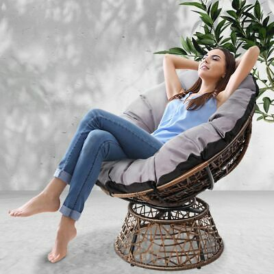 AU224.90 • Buy Gardeon Outdoor Lounge Setting Furniture Papasan Chairs Wicker Sofa Garden Patio