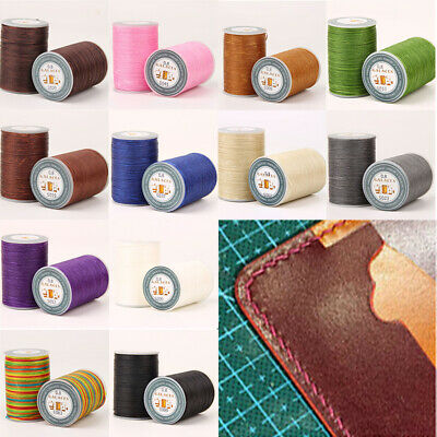 $2.99 • Buy 0.8mm Flat Waxed Thread Cord String For Jewelry Making Bracelet Necklace Craft
