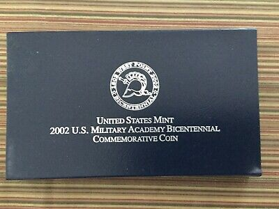 $64.99 • Buy United States Military Academy Bicentennial Commemorative Pure Silver Coin-2002