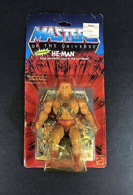 $855 • Buy VINTAGE 1982 HE-MAN Masters Of The Universe MOC Sealed On Card Figure # 5040 New