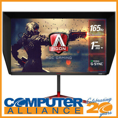 AU599 • Buy 27  AOC AGON AG273QG QHD G-Sync Nano IPS Gaming Monitor With Speakers And Height
