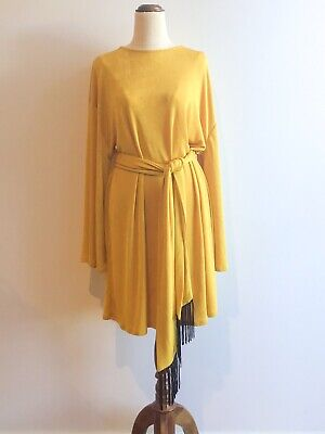 AU44 • Buy ASOS Gold Tunic Dress Labelled Size US 14
