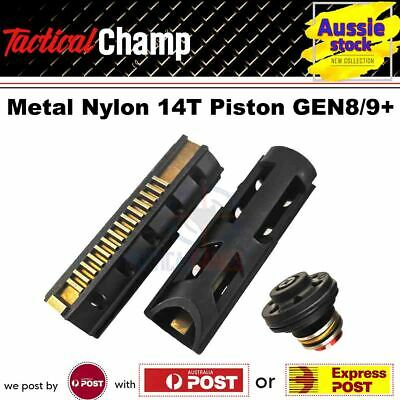 AU19.90 • Buy Upgrade JM Gen 8 J9 M4A1 Gel Blaster Gearbox Metal Nylon 14T Piston Plunger Head