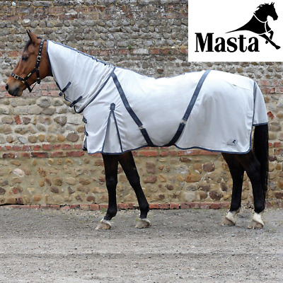 Masta Zing Fly Mesh Fixed Neck Fly Rug - Silver Size 6'0 • 21.99£