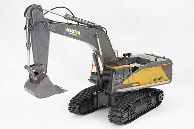 £95.98 • Buy Large 1/14th Scale 22 Channel RC Excavator With Metal Bucket, Lights & Sound
