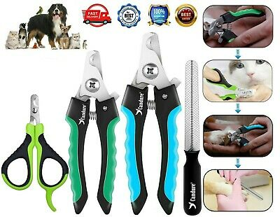 £4.99 • Buy Dog Nail Clippers Pet Cat Rabbit Sheep Animal Claw Trimmer Grooming Large Small