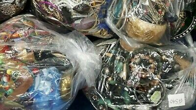 Joblot Mixed Costume Jewellery 2kg Kilo Bundle Everyone Different Craft Beading • 19.99£