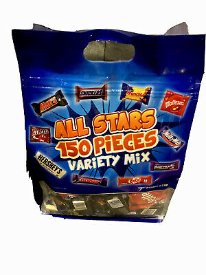 AU44.95 • Buy Choclates 150 Pieces Variety Mix Mars Kitkat Snickers Hersheys Boost Jumbo 2.2kg