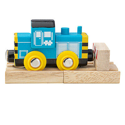 Bigjigs Rail Wooden Class 7 Diesel Shunter Locomotive Train Engine Carriage • 9.98£