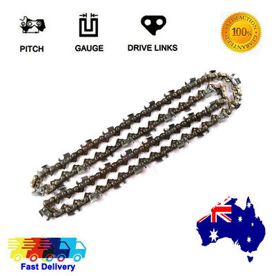 £11.63 • Buy Semi Chisel Chainsaw Saw Chains 18  38 058 68dl For Partner 20 30 40 50 55 P65