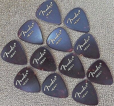 $ CDN7.53 • Buy Fender 351 Classic Celluloid  Guitar Picks - 12 Pack ( Heavy)