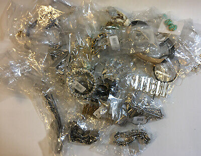 Job Lot Wholesale Fashion Costume Jewellery Bagged New With Tags 1.5 KG • 4.99£