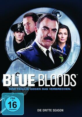Tom Selleck - Blue Bloods. Season.3, 6 DVDs • 14.50£