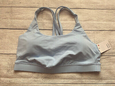 $ CDN68.70 • Buy NWT Lululemon ENERGY BRA SZ 10 BREE Blue