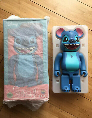 $489.99 • Buy SDCC 2018 BAIT Medicom BE@RBRICK Stitch Bearbrick 400% Figure DISNEY RARE MINT