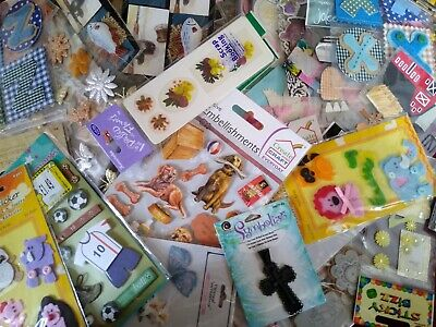 £1.10 • Buy Sets Of All Sorts Of Craft EMBELISHMENTS For Cardmaking & Scrapbooks