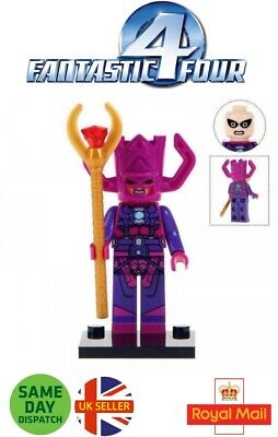 Galactus Mini Figure Avengers Marvel Cosmic Planet Silver Surfer UK Seller • 3.49£