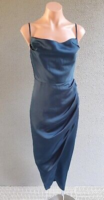 AU26.50 • Buy SALE ❤️ FOREVER NEW Cocktail Strappy Drape Long Dress Size 6 FREE POSTAGE L676