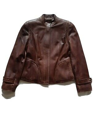 $ CDN300 • Buy Womens Danier Buttery Leather Jacket Black Ladies Size Small Canada